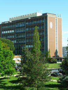 Bâtiment du LOMA à Talence - Domaine universitaire de Bordeaux