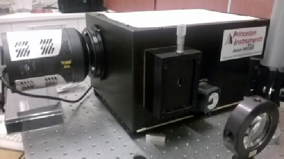 Spectromètre Princeton SP3200 + Caméra PIXIS 400