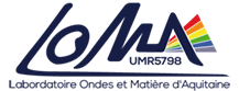 Logo LOMA CNRS UMR5798