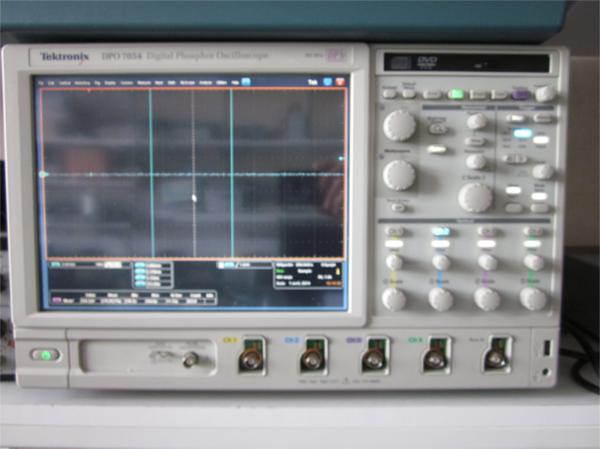 Oscilloscope numérique 500 MHz