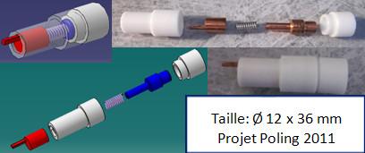 Ce Sous-module permet d'appliquer de Haute Tension sur l'échantillon.
