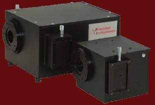 Spectromètre Princeton + Microscope IX71 + Caméra